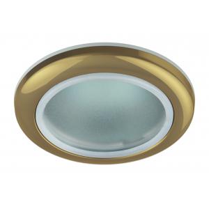 WR1 GD Светильник ЭРА влагозащищенный MR16,12V220V, 50W золото (100/2000)