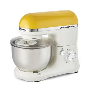Ariete Кухонная машина 1594 GOURMET RAINBOW. Цвет желтый. Мощность 650 Вт, объем - 4 л (24)