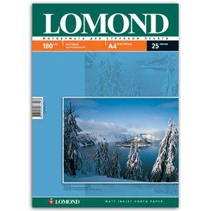 0102037 Lomond Бумага IJ А4 (мат) 180г/м2 (25 л) (35/1155)
