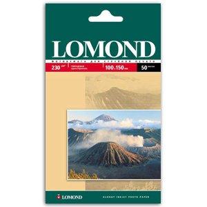 0102035 Lomond Бумага IJ А6 (глянц) 230г/м2  (50л) (56/1848)