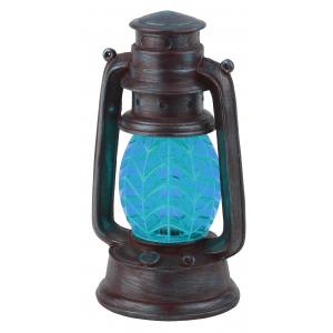 SL-RSN23-LANT-BU ЭРА Садовый светильник на солнечной батарее, полистоун, пластик, синий, 21,3 см (18