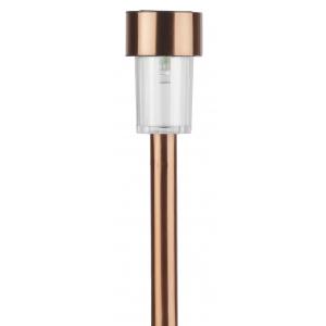 """SL-SS32-CPR ЭРА Садовый светильник на солнечной батарее, нержавеющая сталь, """"медный"""", 32 см (48/1440"""