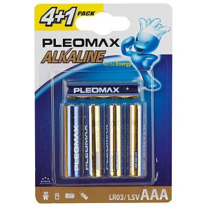 Pleomax LR03-4+1BL (50/500/26000)