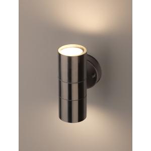 WL16 Подсветка ЭРА Декоративная подсветка 2*GU10 MAX35W IP54 хром (20/360)