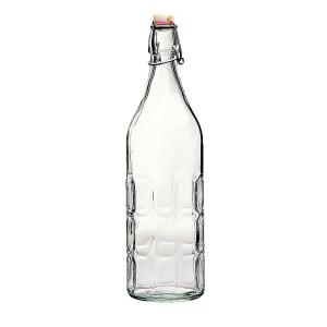 Бутылка Bormioli Rocco MORESCA 345930 стеклянная с с герметичной бугельной пробкой 1000 мл
