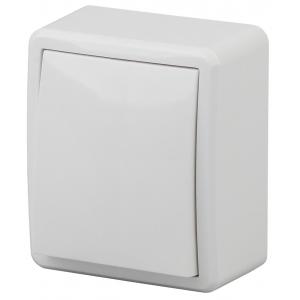 11-1202-01 ЭРА Выключатель с подсветкой, 10АХ-250В, IP20, ОУ, Эра Эксперт, белый (16/160/3200)