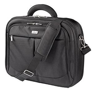 Сумка для ноутбука Trust  17415 тканевая 17 дюймов черная Carry