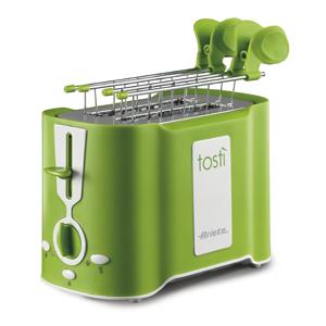Ariete Тостер 124/12 TOASTY. Мощность 500 Вт, зеленый (4/96)