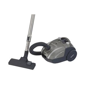Ariete Пылесос c пылесборником 2784/01 SMART. Мощность 2000 Вт, бумажный пылесборник - 2 л, серого ц