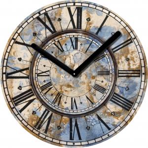 "Innova Часы W09668 ""Антиквариат"", круглые, стекло, диаметр 30 см (10/150)"