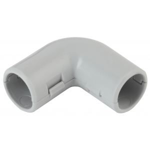 ЭРА Угол 90 гр.(серый) соединительный для трубы 32мм (10шт) (10/150/2700)