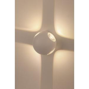 WL10 WH Подсветка ЭРА Декоративная подсветка светодиодная ЭРА 4*1Вт IP 54 белый (20/400)