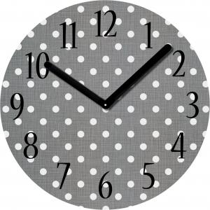 "Innova Часы W09671 ""Точки"", круглые, стекло, диаметр 30 см (10/150)"