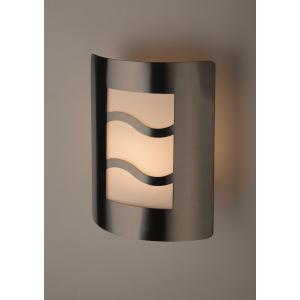 WL21 Подсветка ЭРА Декоративная подсветка E27 MAX40W IP44 хром/белый (12/96)