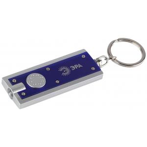 B23 Фонарь ЭРА LED брелок, пластик, бат в компл, бл (24/240/2880)