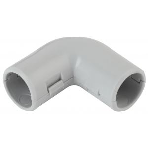 ЭРА Угол 90 гр.(серый) соединительный для трубы 25мм (10шт) (10/250/4500)