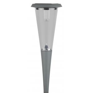 SL-AL50 ЭРА Садовый светильник на солнечной батарее, алюминий, серый, 50 см (12/96)