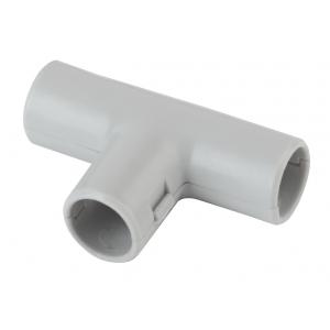 ЭРА Тройник  (серый) соединительный для трубы 20мм (10шт) (10/250/4500)