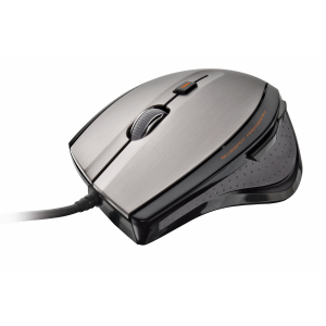 17178 Мышь Trust MaxTrack Mouse grey/black USB (60/720)