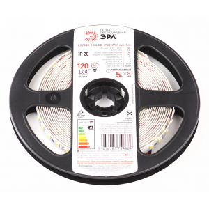 ЭРА Лента светодиодная LS2835-9,6-120-12-2700K-IP20-1 year-5m (100/1800)
