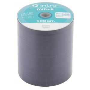 Intro DVD+R INTRO Printable 16X 4,7GB  Bulk 100 (100/500/22500)