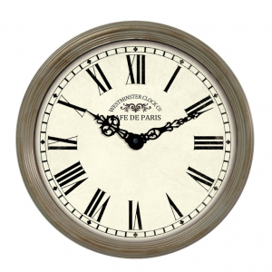 Innova Часы W09647, материал металл, диаметр 38 см, цвет бежевый (6/108)