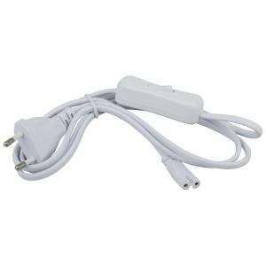 LLED-A-CABLE-1.5m-SW-W ЭРА Сетевой шнур 1,5м с выключателем для светильников LLED разъемC7 (200/4200