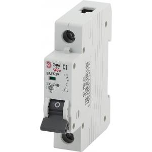 ЭРА Pro Автоматический выключатель NO-900-18 ВА47-29 1P 63А кривая C (12/180/3240)