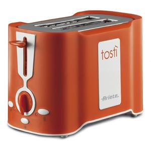 Ariete Тостер 124/11 TOASTY. Мощность 500 Вт, оранжевый (4/72)