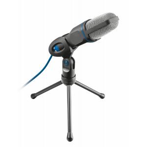 20378 Trust Стрим микрофон MICO USB подставка (40/480)