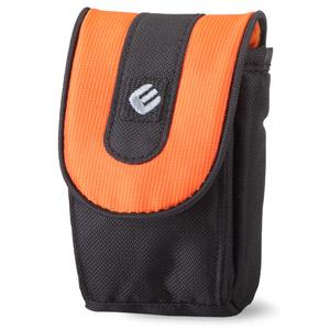 EP-011002 Era Pro Чехол для фотоаппарата  10,5х6,5х3 см. чёрн/оранж (12/36/972)