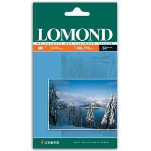 0102063 Lomond Бумага IJ А6 (мат) 180г/м2 (50л) (68/2244)