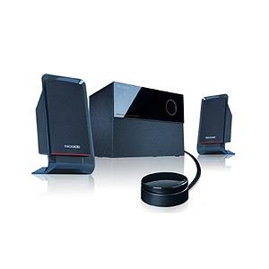 Колонки Microlab M-200BT 2 колонки+сабвуфер, дерево, черные (40W RMS) Bluetooth (4/40)