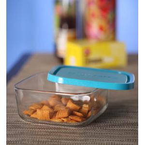 Контейнер для хранения еды Bormioli Rocco FRIGOVERRE 388820 стеклянный квадратный 19 x 19 см с крышкой 2000мл