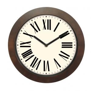 Innova Часы W09653, материал древесина, диаметр 29 см, цвет коричневый (12/144)