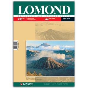 0102049 Lomond Бумага IJ А4 (глянц) 230г/м2 (25 л) (26/858)