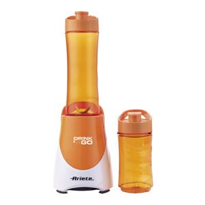 Ariete Блендер 563/02 DRINK & GO. Mощность - 300 Вт, объем - 0,6 л+ 0.4 л, оранж (6/48)