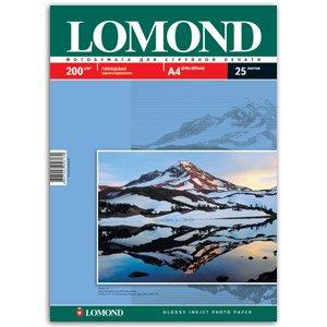 0102046 Lomond Бумага IJ А4 (глянц) 200г/м2 (25 л) (33/1089)