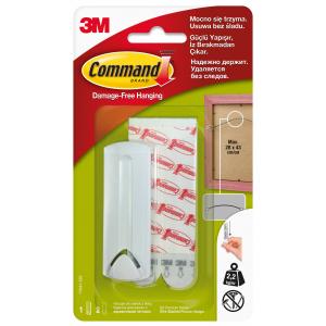 Command 17041 Легкоуд. крючок д/ РАМОК с верев.петл. до 2кг, 1шт (12/3528)