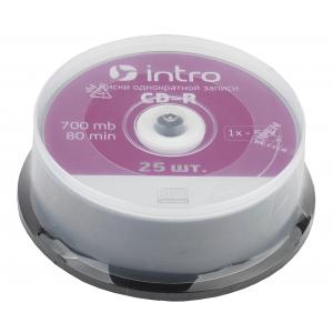 Intro СD-R INTRO 52X 700MB  Cakebox 25 (25/300/14400)