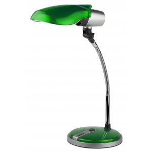 ЭРА наст.светильник NE-301-E27-15W-GR зеленый (12/72)