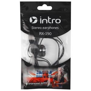 333458 Intro RX-190 вкладыши черные (500/10000)