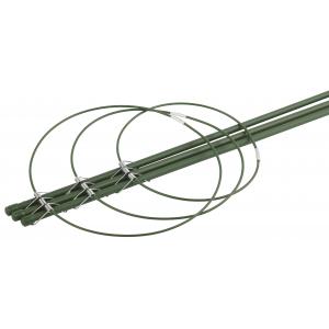 GFS-3-45 GREEN APPLE Поддержка для цветов 3 кольца 45см (60/600)