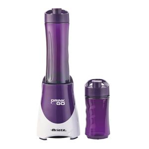 Ariete Блендер 563/03 DRINK & GO. Mощность - 300 Вт, объем - 0,6 л+ 0.4 л, фиолет (6/60)