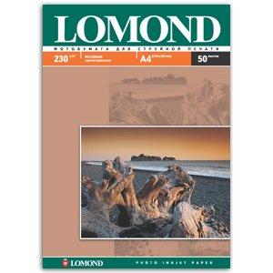 0102016 Lomond Бумага IJ А4 (мат) 230г/м2 (50 л) (15/495)