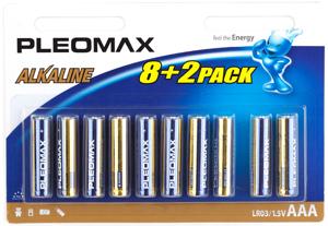 Pleomax LR03-8+2BL (100/600/36000)