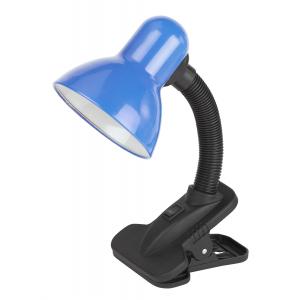 ЭРА наст.светильник N-102-E27-40W-BU синий (30/240)