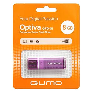 Флэш-диск QUMO 08 Gb Optiva-01 Violet (25/7500)