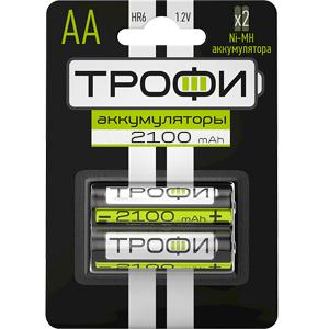 Трофи HR6-2BL 2100 mAh (20/240/14400)