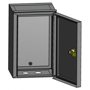 ЭРА ЩУ-МП с окном и кронштейном IP55 (295х190х110) (128)